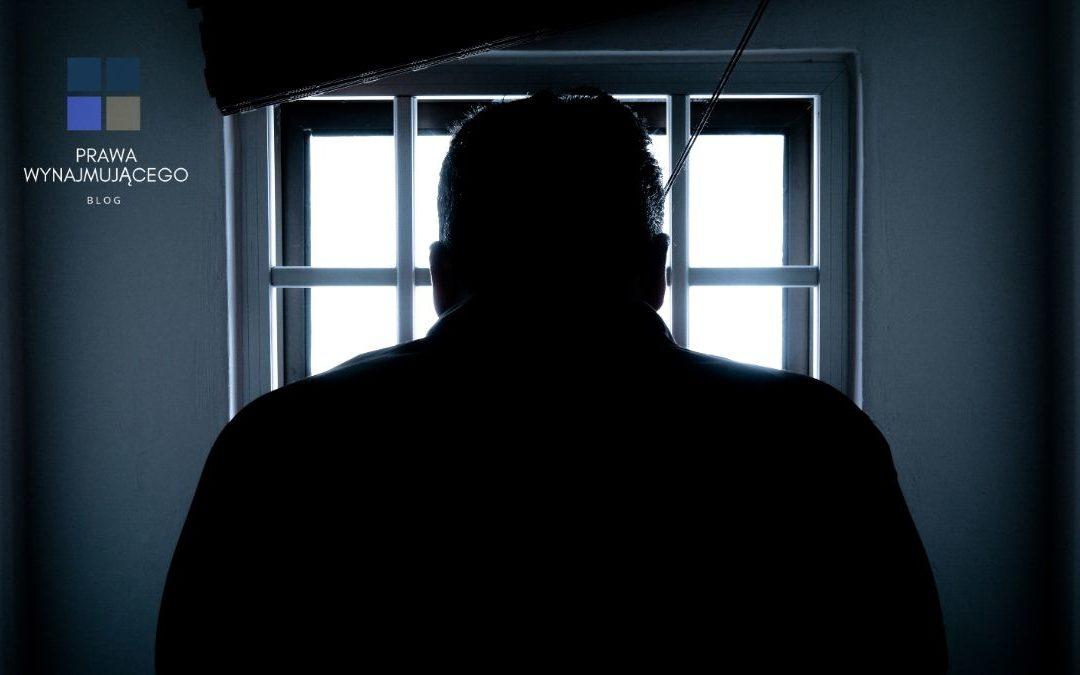 """Ile osób w Polsce – według stanu na koniec 2018 roku – zostało prawomocnie skazanych za przestępstwo """"utrudniania korzystania z lokalu mieszkalnego""""(art. 191 § 1a KK)?"""