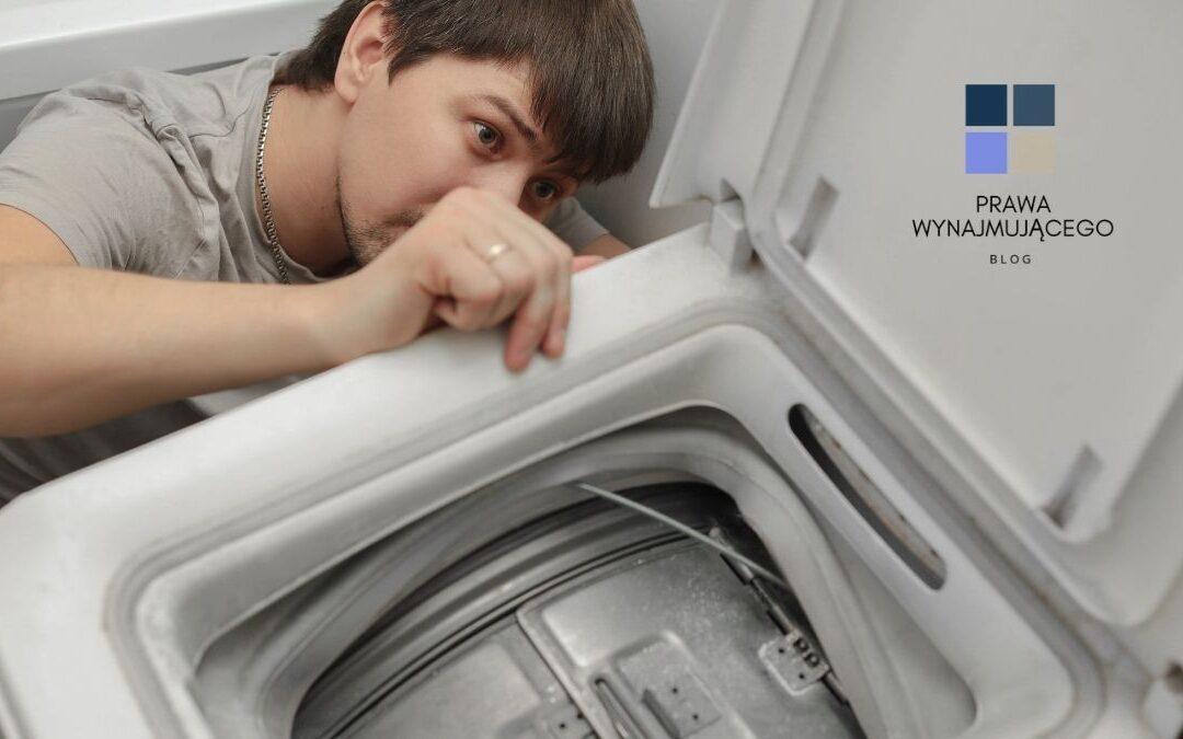 Kto powinien naprawić pralkę w mieszkaniu – najemca czy wynajmujący?